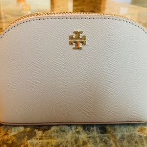 NWT Tory Burch York Cosmetic Bag